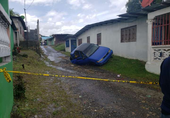 Un muerto y otro herido deja balacera en Puerto Escondido, Colón   [Video]