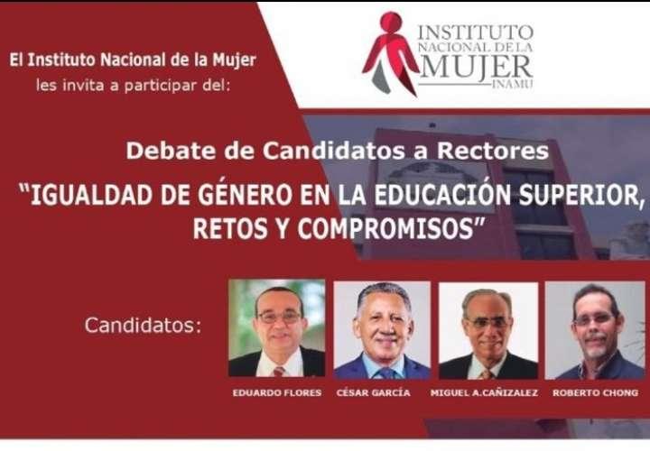 Candidatos a rectoría de la UP debatirán sobre igualdad y educación superior