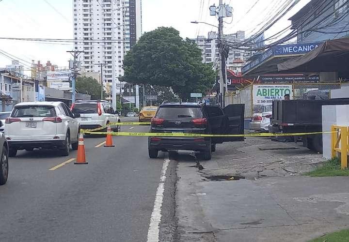 Balas directas a pareja en Panamá Viejo  [Video]