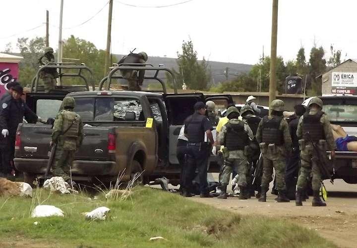 Al menos 18 muertos deja enfrentamiento entre cárteles en norte de México