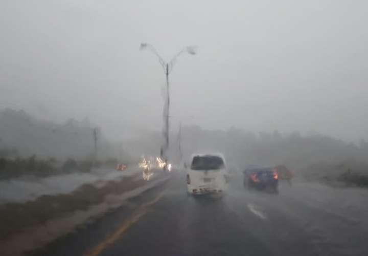 Sinaproc: Clima inestable por fuertes vientos y lluvias hasta el lunes