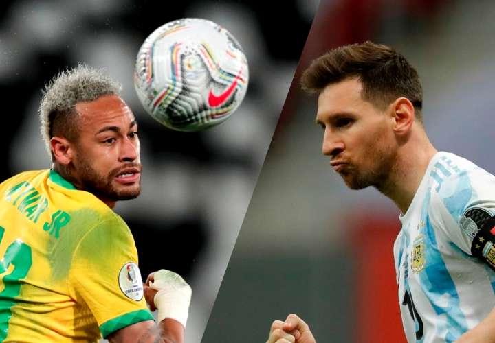 """El mundo se paraliza con el """"súper clásico"""" entre Brasil y Argentina"""