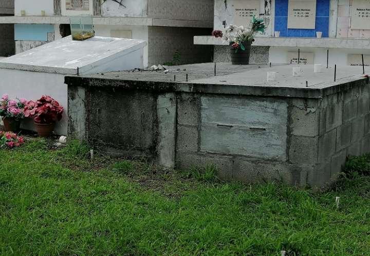 70% de las sepulturas en el cementerio de Chame no tienen registros