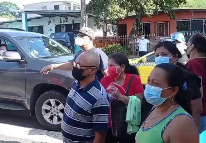 Se agotaron las vacunas en San Miguelito
