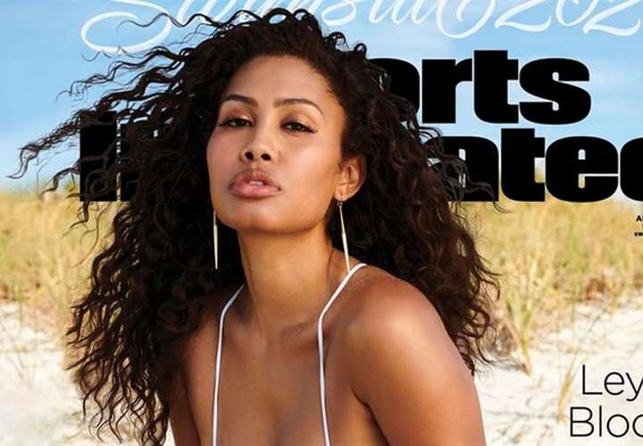 Leyna Bloom, primera modelo trans que sale en la portada de 'Sports Illustrated'