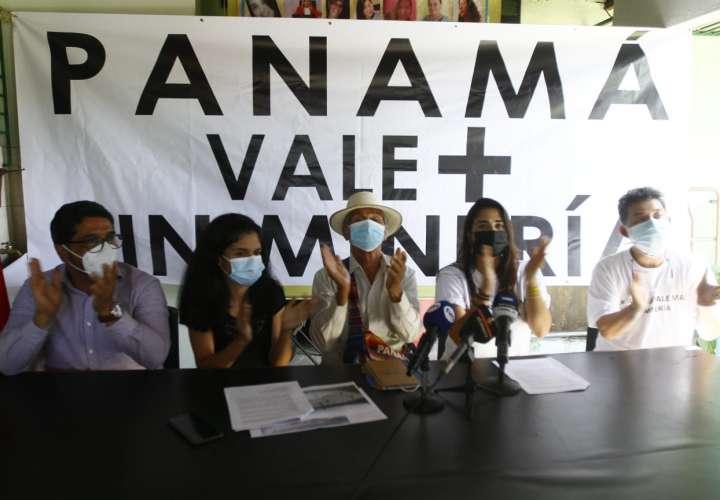 """Movimiento """"Panamá Vale + Sin Minería"""" rechaza negociación con Minera Panamá"""