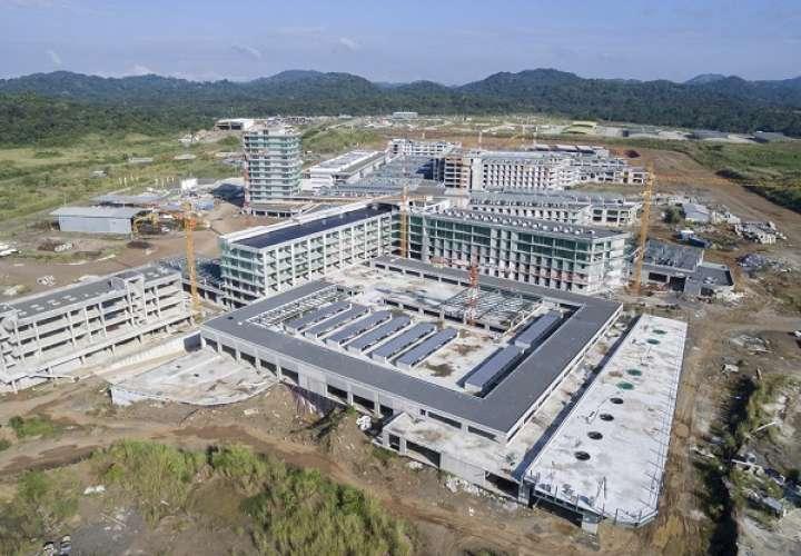 Vista aérea de la Ciudad de la Salud.