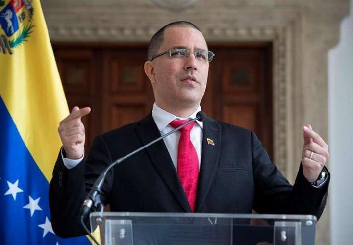 En la imagen, el canciller venezolano, Jorge Arreaza. EFE