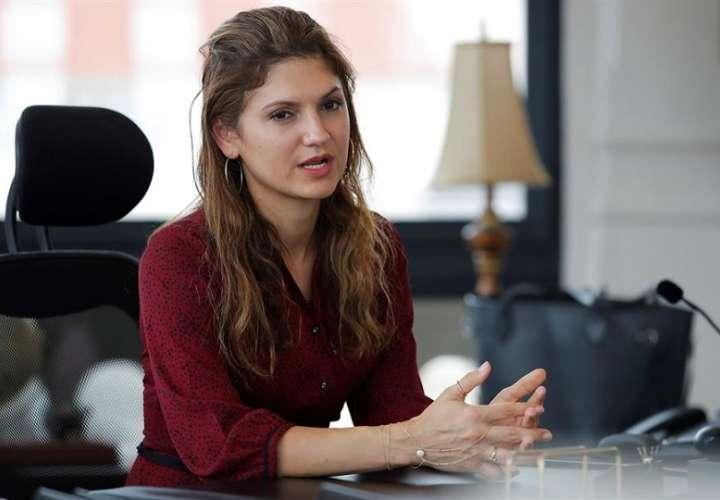 En la imagen, la canciller de Panamá, Erika Mouynes. EFE