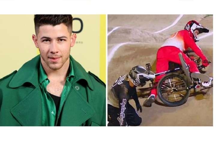 Nick Jonas es hospitalizado y se fractura una costilla en plena acrobacia