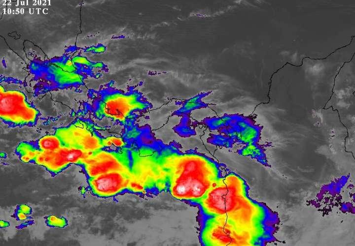 Emiten aviso de vigilancia por lluvias con ráfagas de viento hasta el domingo