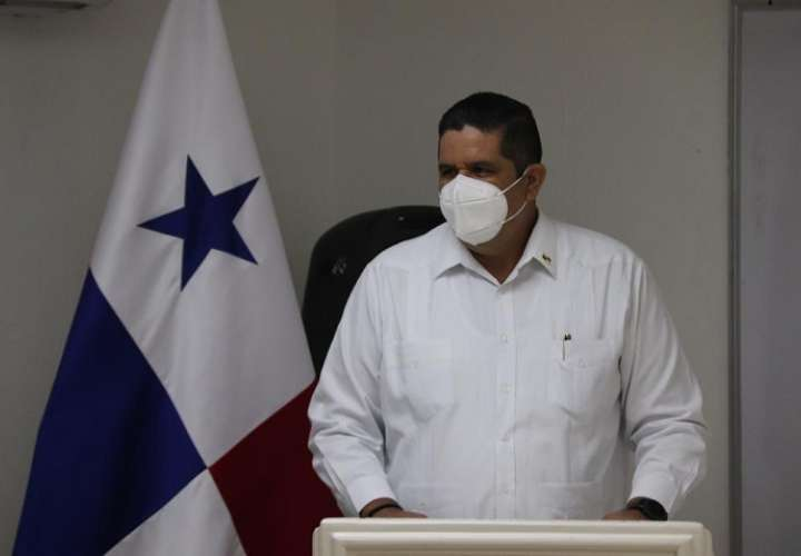 Ministro de Seguridad, Juan Pino.