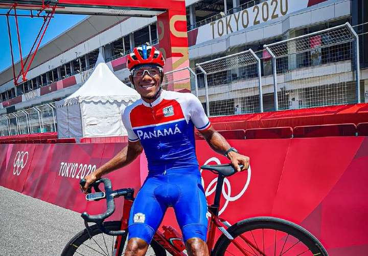 Panameño Jurado: orgulloso de hacer historia en los Juegos Olímpicos de Tokio