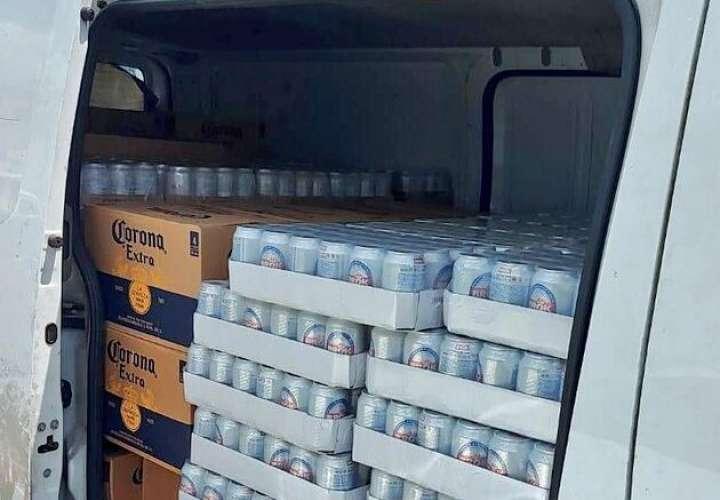 Frenan contrabando de licor en Colón