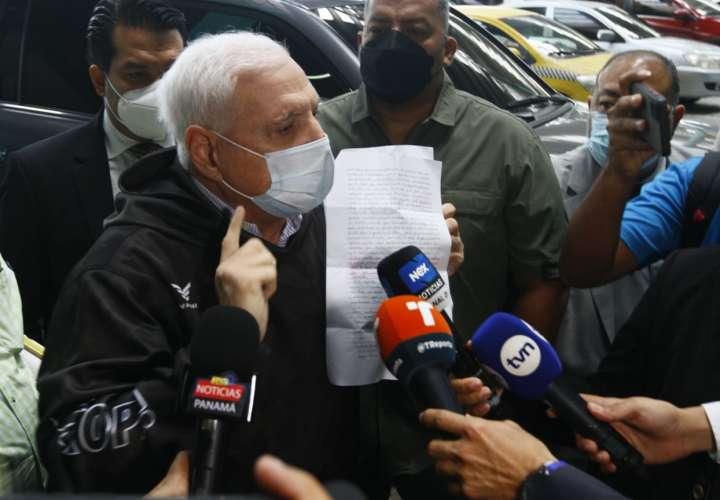 Martinelli: Fiscalía reconoce que pruebas no cumplen con cadena de custodia