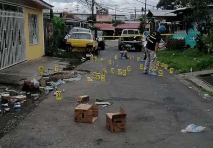 Reparten bala en la 17 de Río Abajo