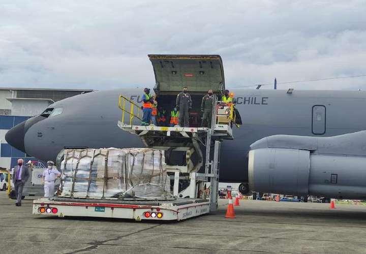 Panamá envía 15 toneladas de ayuda a Haití