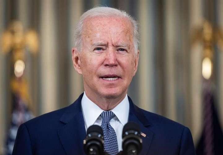 En la imagen aparece el  presidente de Estados Unidos, Joe Biden. EFE