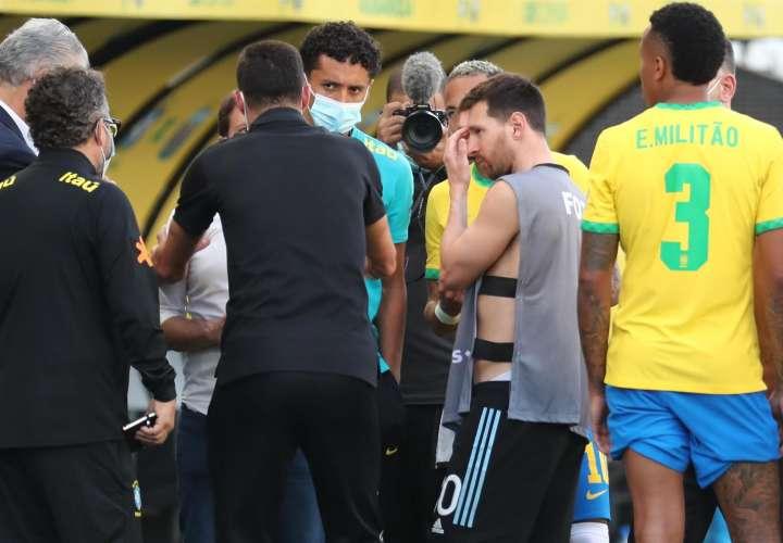 Por polémica ante protocolo de Covid, suspenden juego Argentina-Brasil