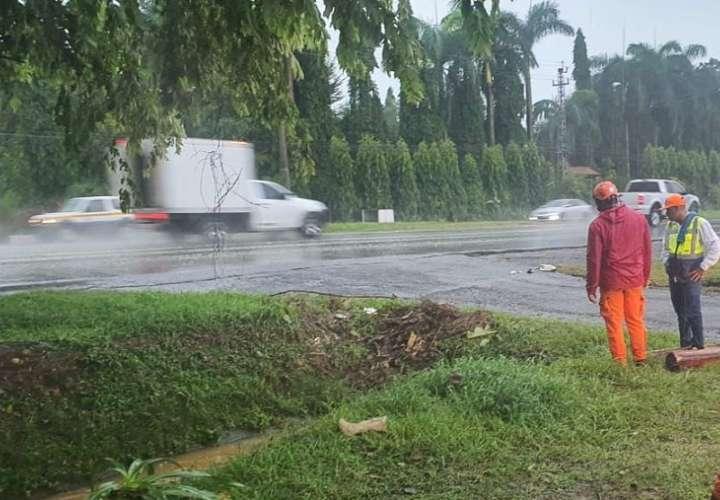 Se espera la incursión de lluvias acompañada de tormentas eléctricas.