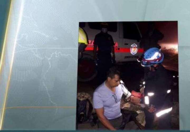 Rescatan a extranjero en Boquete