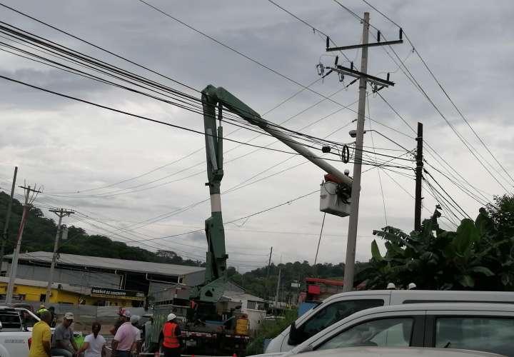 Arrecían apagones y fluctuaciones en Panamá Oeste