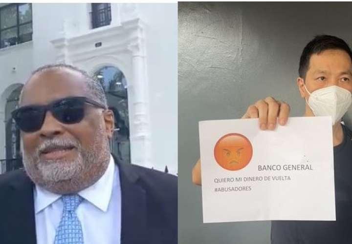 Denuncian a Banco General por vaciado de 11 mil cuentas; piden investigación