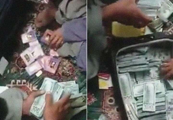 El dinero y el oro fueron entregados al comandante talibán Mansour Agha, quien dirige las fuerzas talibanes en esa zona de Panjshir, donde Saleh tiene su casa.