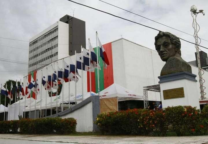 Vista externa de la Asamblea Nacional de Diputados de Panamá.