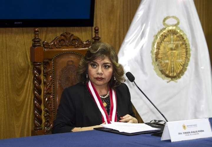 Fotografía de archivo de la fiscal general de Perú, Zoraida Ávalos. EFE
