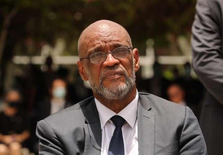 Fotografía de archivo del primer ministro de Haití, Ariel Henry. EFE