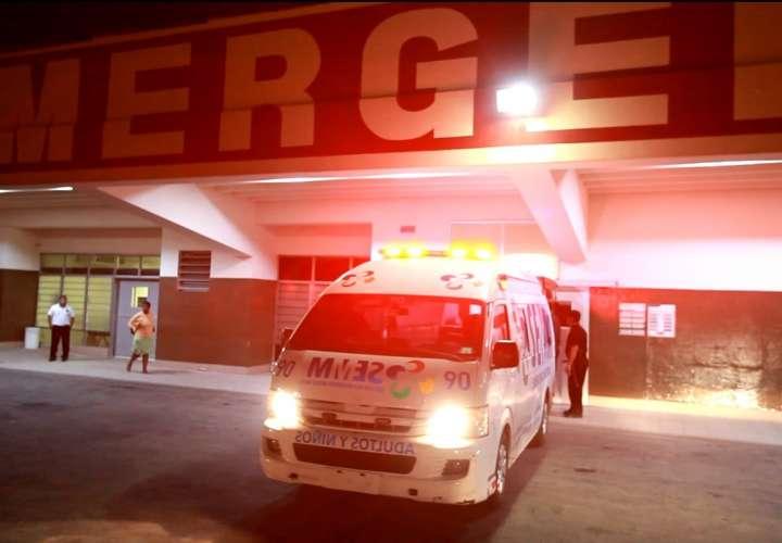 Vista externa del cuarto de urgencias del Hospital San Miguel Arcángel. Foto: Archivo