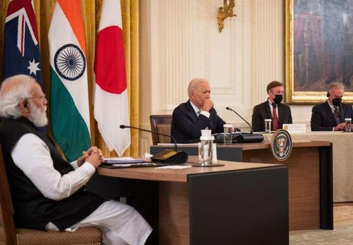 Joe Biden busca consolidar el Quad frente al avance de China