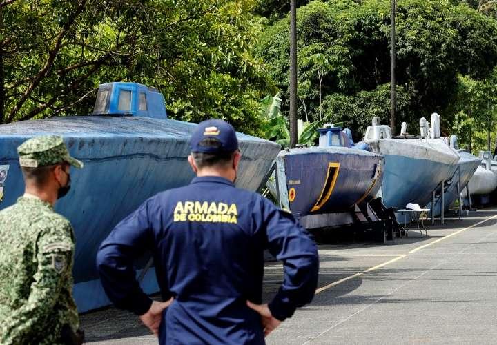 8 narcosubmarinos mandó Clan del Golfo a Panamá