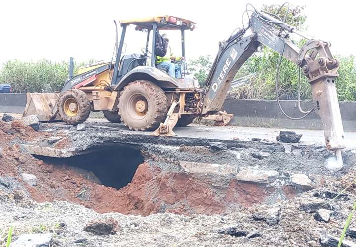 MOP: Cierre total de vía Interamericana para reparación en Loma Cová  [Video]