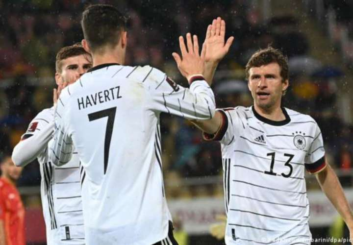 Alemania, primer equipo clasificado al Mundial de Fútbol Catar 2022