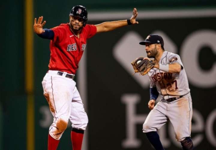 Astros de Houston y Medias Rojas de Boston van por título de la Liga Americana