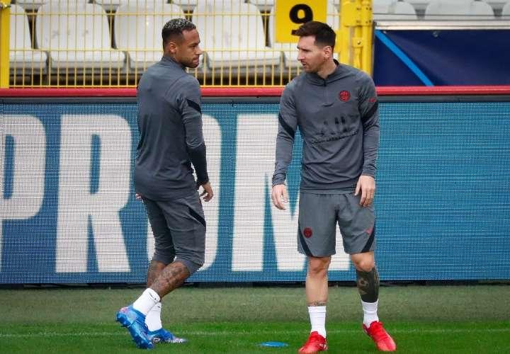 Tridente del PSG podría debutar hoy