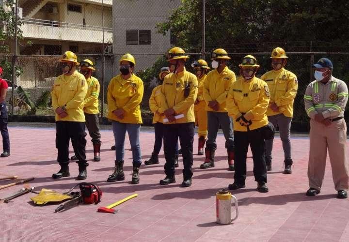 Bomberos voluntarios se activan para enfrentar incendios de herbazales