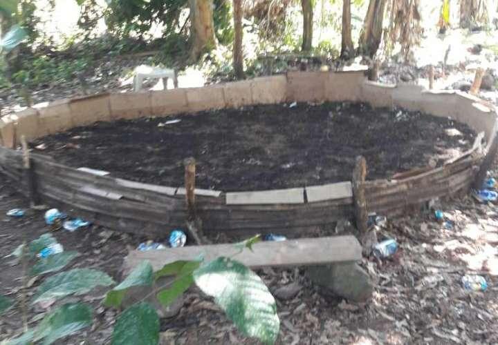 Desmantelan gallera en Chiriquí