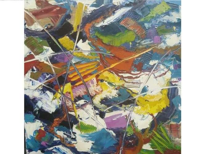 Reconocidas artistas panameñas exponen sus obras en la Asamblea Nacional