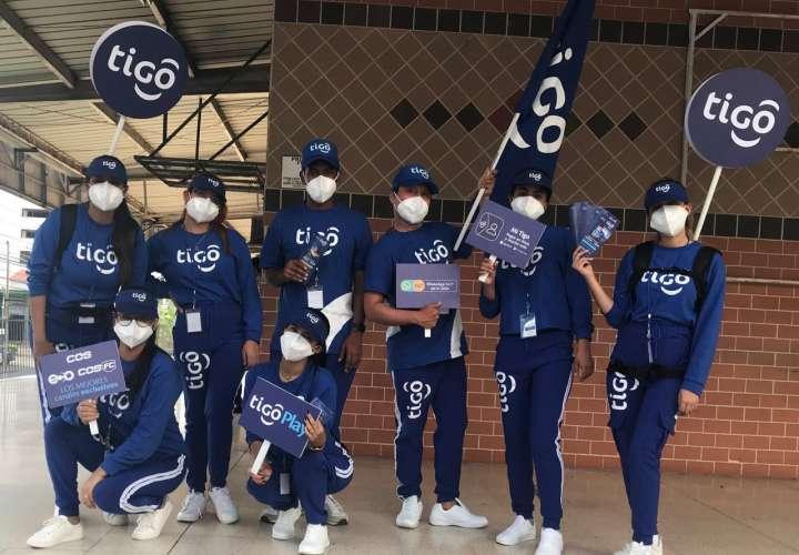 Fuerza azul de Tigo se toma Panamá