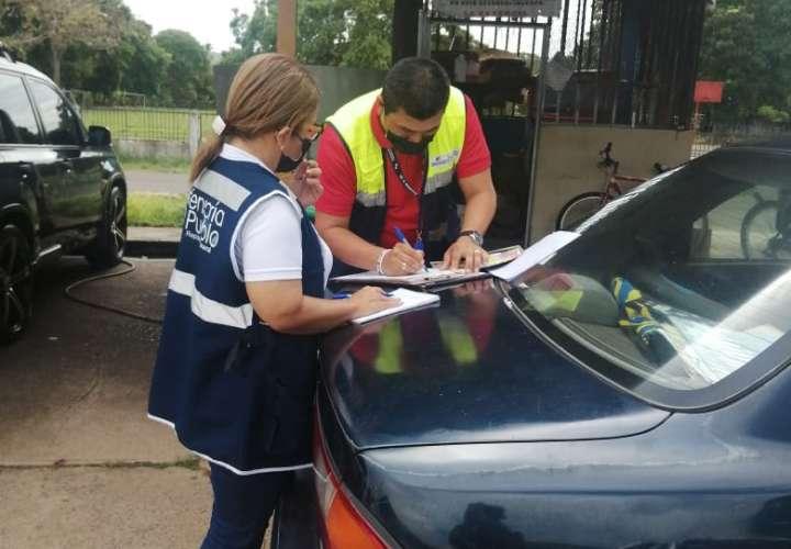 En el operativo participaron funcionario del Ministerio de Trabajo