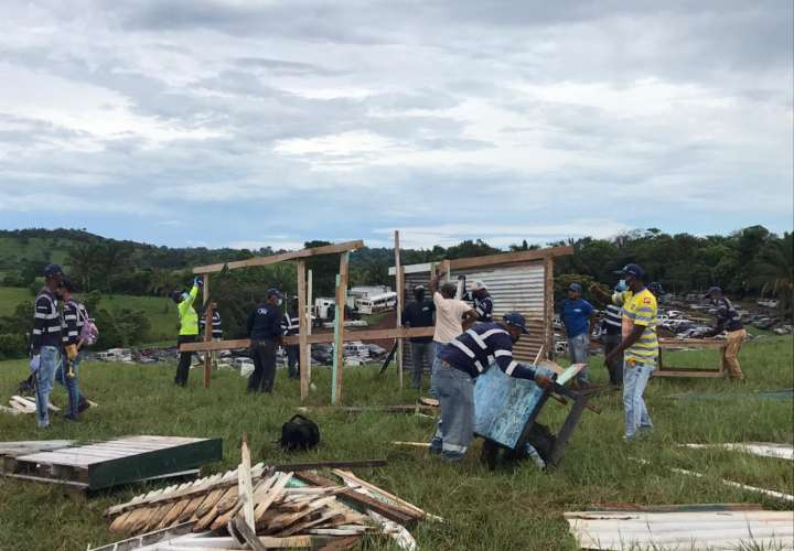 Vaticinan problemas por reubicación de invasores en Panamá Oeste