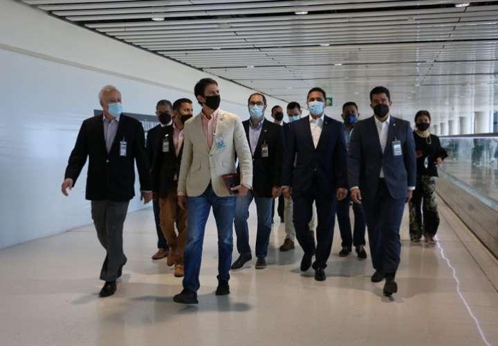 Autoridades visitan Aeropuerto de Tocumen y revisan las medidas de bioseguridad