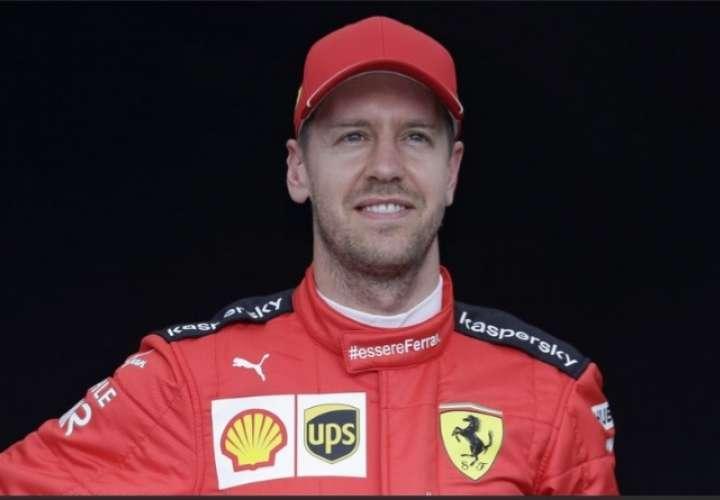 Sebastian Vettel, piloto alemán.