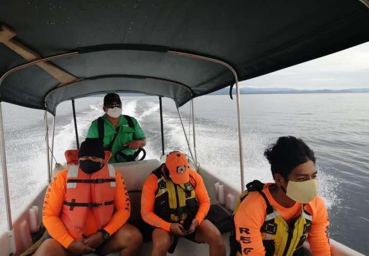 Sinaproc busca a ciudadano que desapareció en Isla Colón