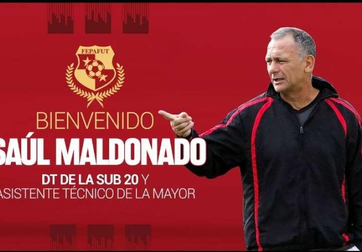 Saúl Maldonado será el director del onceno Sub 20 y asistente  de la Mayor