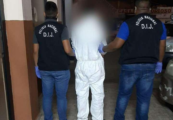 Capturan a colombiano por homicidio de ayer en La Chorrera  [Video]