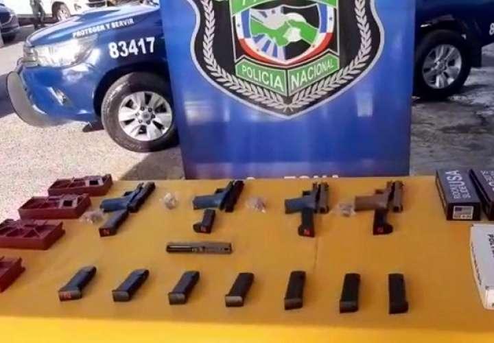 El decomiso se realizó durante acciones operativas efectuadas en el corregimiento de Barrio Norte.
